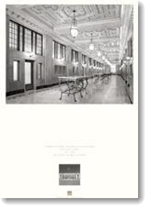 Thumbnail of poster showing restored historic interior lobby of Adair U.S. Courthouse