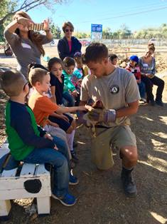 Americorps Member with children in Tucson AZ