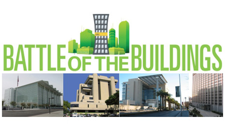 Pacific Rim Region's GSA-owned entrants in the Battle of the Buildings competition