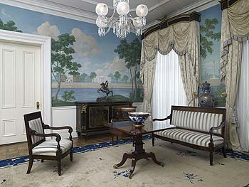 Jackson Place sitting room, Blair House, located across from the White House, Washington, D.C.