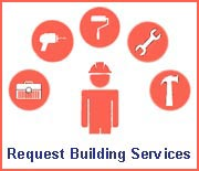 Request Building Services Button