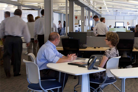 Open Workspace at GSA's 1800 F Headquarters