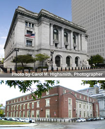 Collage of Rhode Island federal buildings