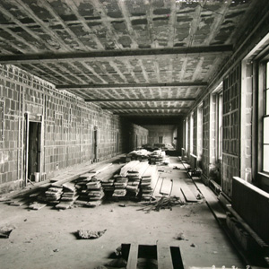 Interior construction of the Department of Commerce