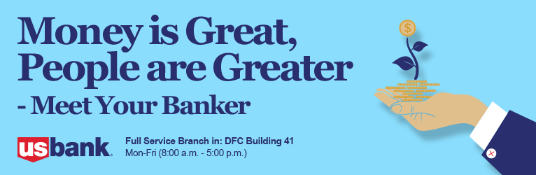 Title graphic that says Money is Great, People are Greater: Meet your Banker