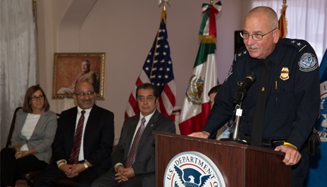 CBP Field Operations Director William K Brooks