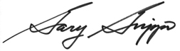 Signature of Gary Grippo, Acting Chief Financial Officer