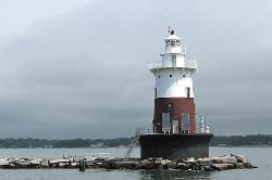 Greens Ledge Lighthouse, Long Island Sound, CT  - photo courtesy of  Jeremy D'Entremont