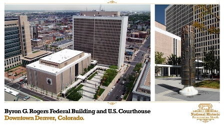 Image of Byron Rogers Federal Building and Courthouse in Denver