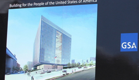 Building for the People of the United States of America