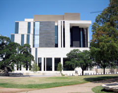 Photo of the new Austin Courthouse.