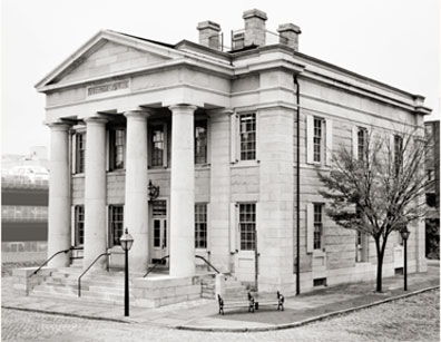 Exterior, US Courthouse, New Bedford, MA