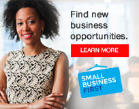 Image reads - Find new business Opportunities	- Click to learn more