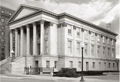 Exterior, Owen B. Pickett US Custom House, Norfolk, VA.