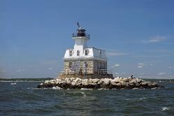 Penfield Reef Lighthouse, Fairfield, CT - photo courtesy of Jeremy D'Entremont