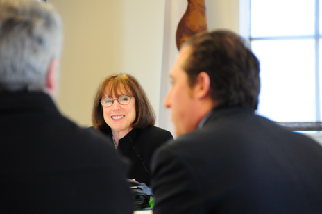 Regional Administrator Ruth F. Cox at Small Business Round Table in Los Angeles