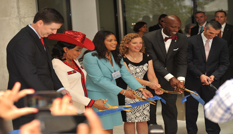 Ribbon Cutting at new Benjamin P. Grogan and Jerry L. Dove Federal Building