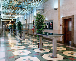 Sacramento Federal Building interior lobby