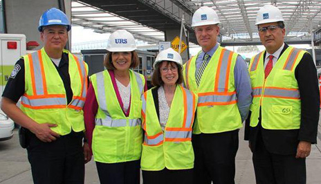 Officials tour the San Ysidro Land Port of Entry