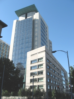 Exterior of Seattle Courthouse