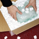Packing supplies  peanuts in a box