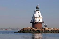 Southwest Ledge Lighthouse, New Haven Harbor, CT - photo courtesy of Brian Tague Photography
