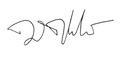 Dan Tangherlini signature