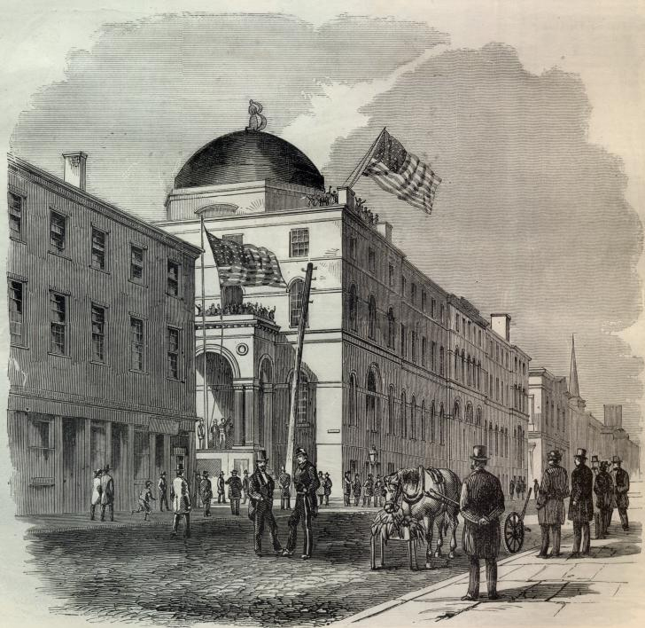 U.S. Custom House, Baltimore, Maryland