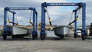 Surplus Navy boats landed in Connecticut on Nov. 30