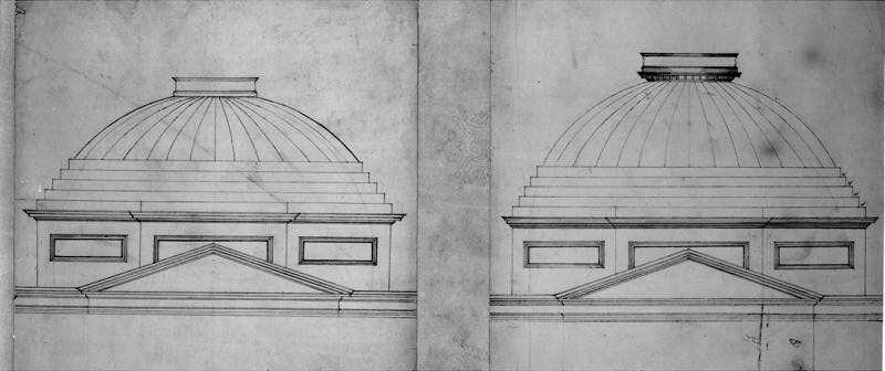 U.S. Capitol Dome Sketches, Charles Bulfinch