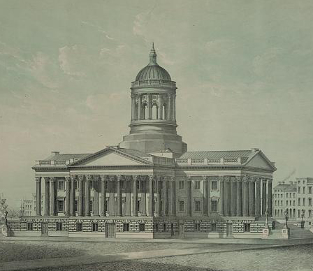 U.S. Custom House [as planned], Charleston, South Carolina