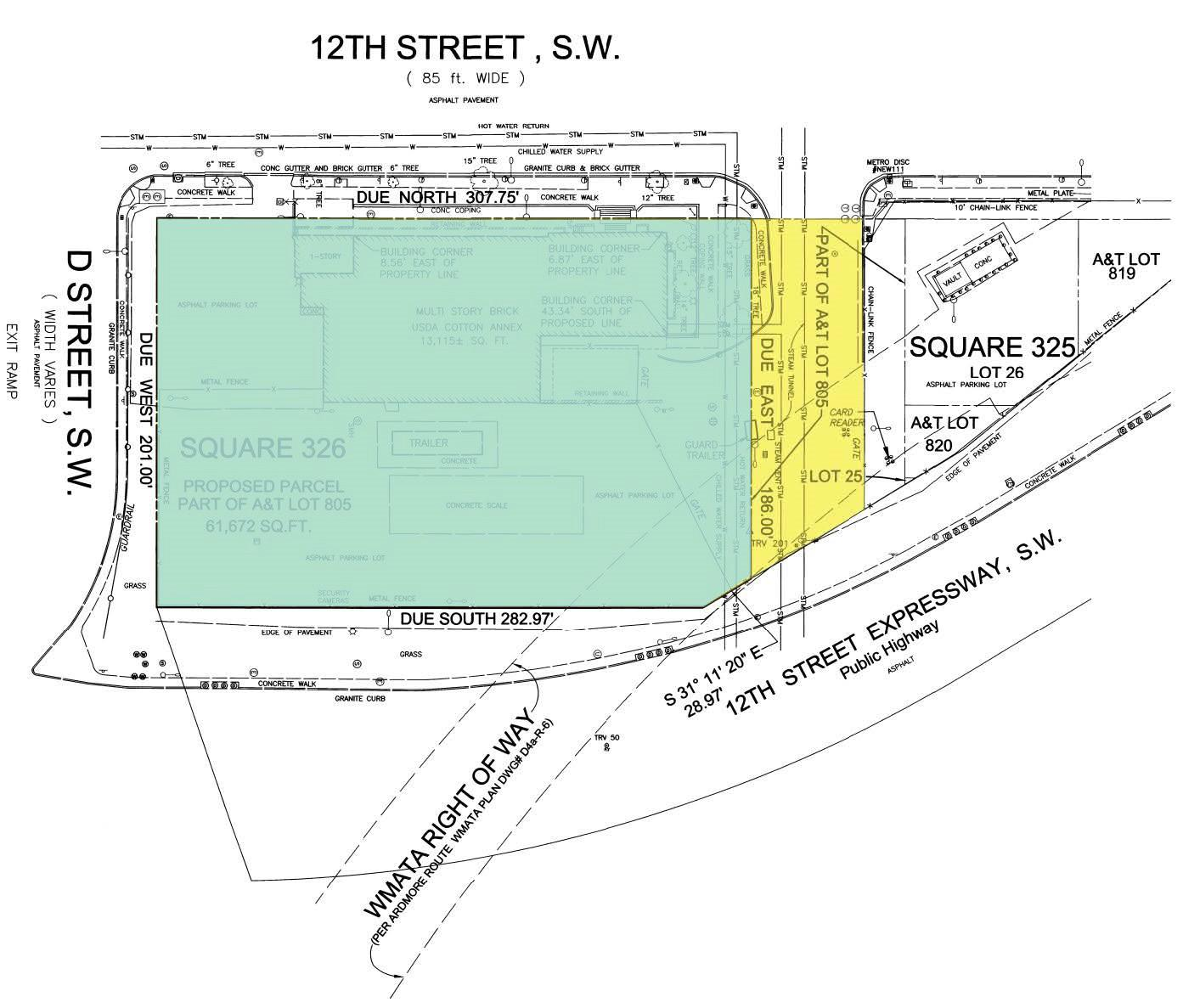 map illustration of Cotton Annex.