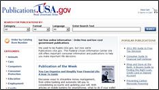 Publications.USA.gov Web page.
