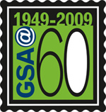 60th anniversary logo for GSA