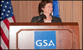 Thumbnail image for photo gallery of Martha Johnson being sworn in as new GSA Administrator