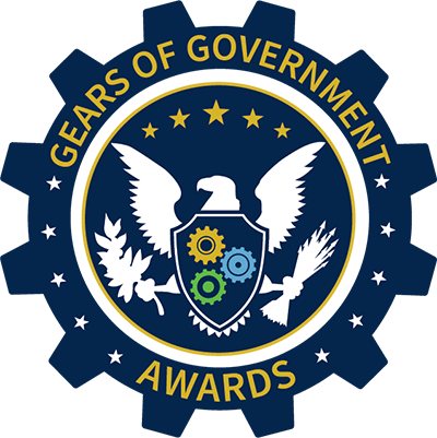 Gears of Government Awards logo (seal)