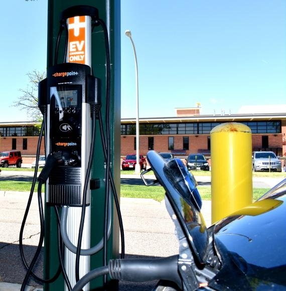 Image of DFC Electric Vehicle Charging Station