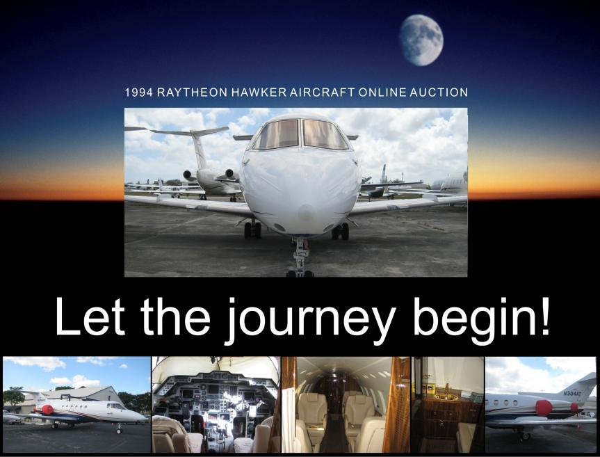 GSA Auctions announces the online sales of a 1994 Raytheon Hawker