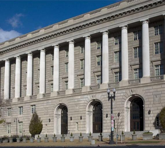 Photo of Exterior IRS Building
