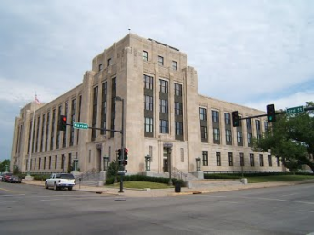 Exterior photo of the Wichita U.S. Courthouse