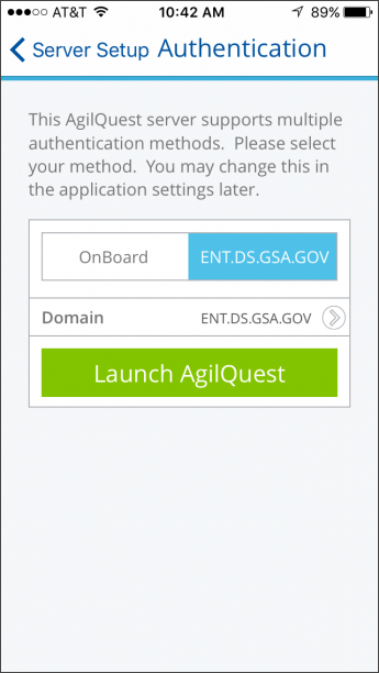 Screenshot of bookit step three login