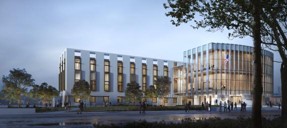 Greenville Federal Courthouse Rendering