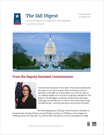 IAE Digest Quarterly Newsletter